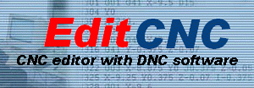 G-code editor and DNC software